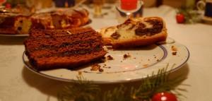 Sobras de comida en Navidad