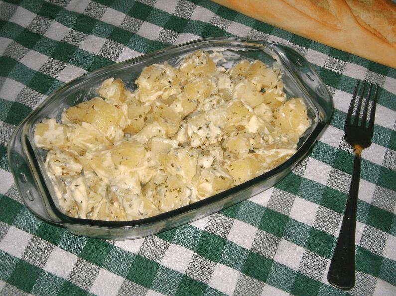Receta patatas alioli for Que hacer para comer hoy