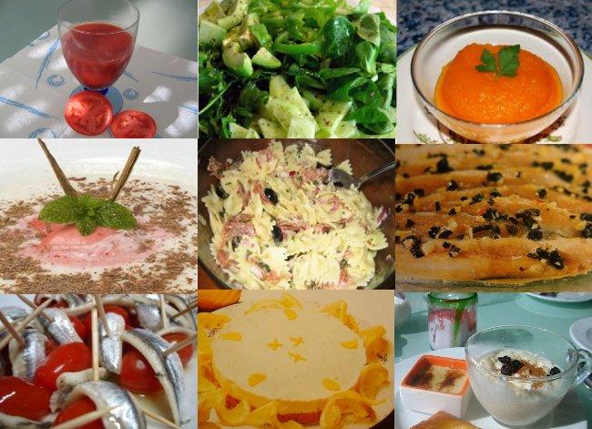 Fotoes de recetas especiales para el verano