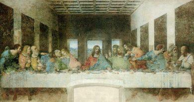 La última cena, de Leonardo da Vinci