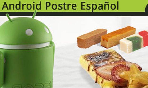 Android, postre español