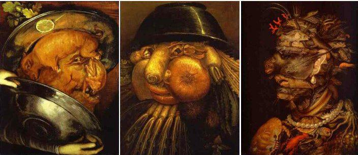 Algunos de los cuadros con comida más famosos de Arcimboldo