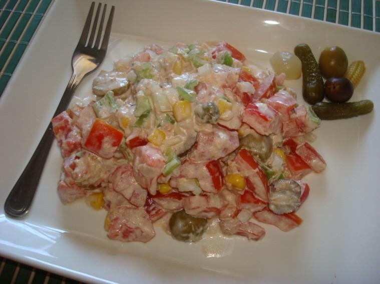 Receta de ensaladilla de tomate