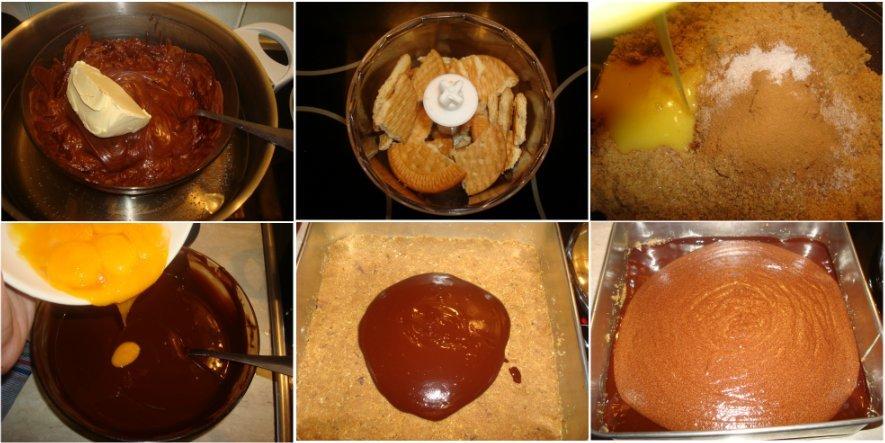 Receta paso a paso de la tarta mousse de chocolate