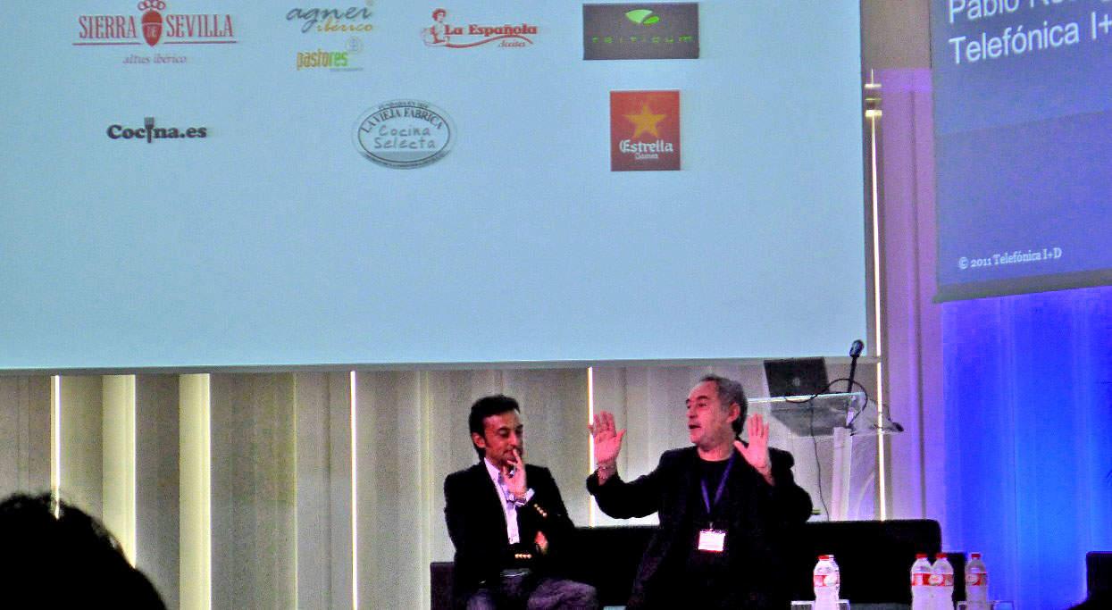 Ferran Adrià, en Gastronomy & Technology Days 2011