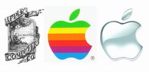 Evolución del logo de Apple Inc.