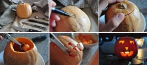 Cómo hacer calabazas para Halloween