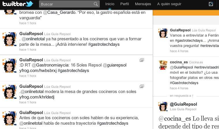 Crónica de la entrevista a Ferran Adrià en Twitter