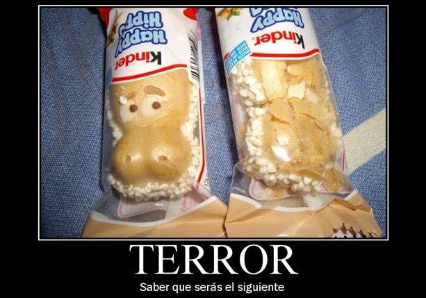 Humor gráfico en la cocina: terror