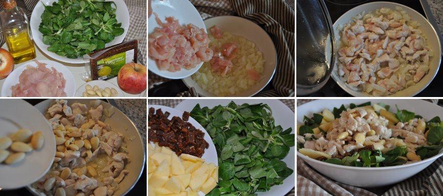 Receta paso a paso de la ensalada gourmand