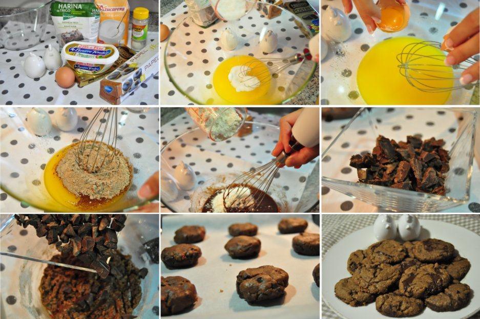 Receta: galletas de chocolate