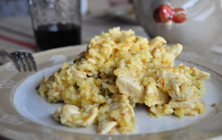 Receta: arroz con pollo | Cocina.es