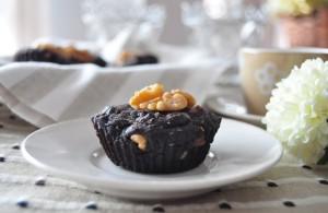 Brownies de chocolate negro