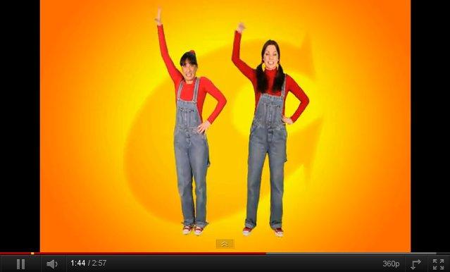 """Vídeo de la canción """"El baile de la tetera"""", de Cantajuegos"""