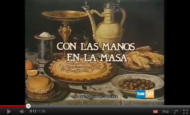 """Vídeo de la Canción """"Con las manos en la masa"""""""