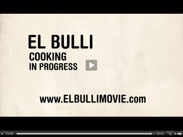(Ver trailer) El Bulli Movie: cooking in progress