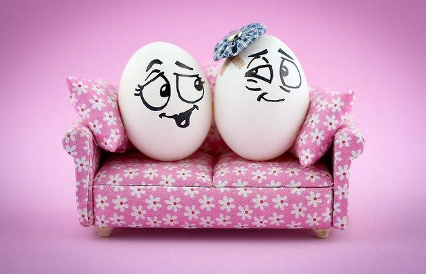 Huevos con mucho arte, de la galería de ReRe en Flickr