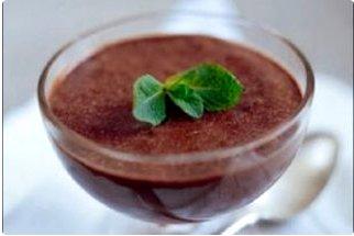 Mousse de chocolate: postres sin azúcar para diabeticos