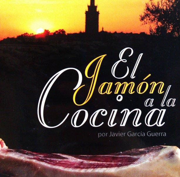 """Portada del libro """"El jamón a la cocina"""", de Javier García"""