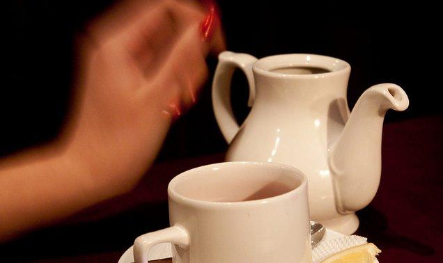 Taza de té y tetera