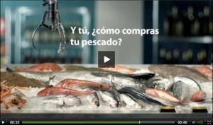 Vídeo de la campaña sobre el consumo de pescado de Escogetupescado.eu