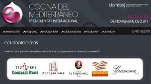 Web del Encuentro de Cocina del mediterráneo