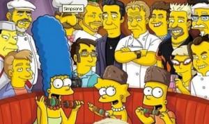Los blogueros gastronómicos, según Los Simpsons