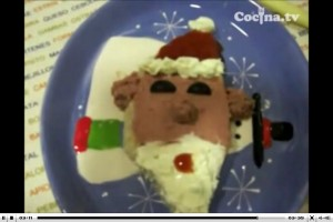 Vídeo de la receta - Cara de Papá Noel