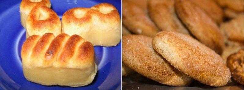 Dulces de Navidad: mazapán y perrunillas