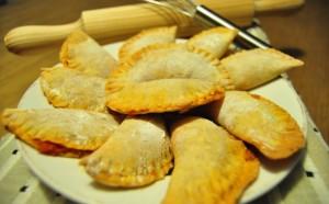Empanadillas al horno con masa casera
