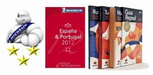 Guía Michelín y Guía Repsol 2012