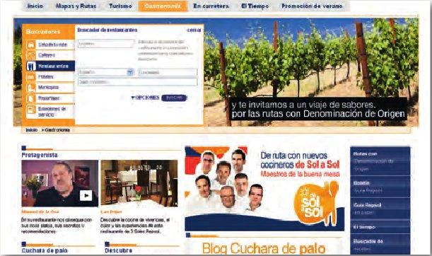Guiarepsol.com, la web de Guía Repsol