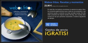 """Libro """"Webos Fritos. Recetas y Momentos"""""""