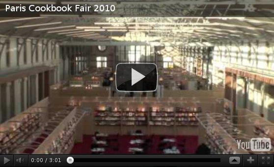 Vídeo sobre la Paris Cookbook Fair 2010