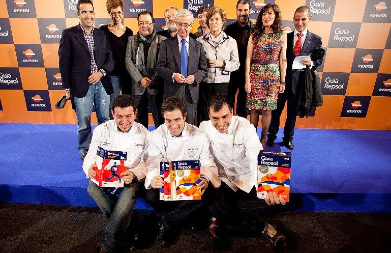 Presentación de la nueva Guía Repsol 2012