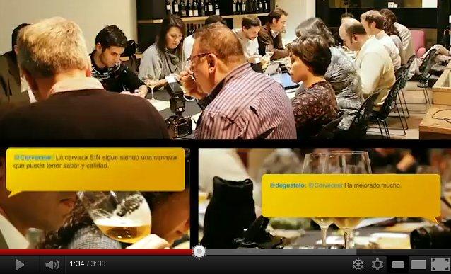 Vídeo sobre #cervezascon organizado por Cervecear