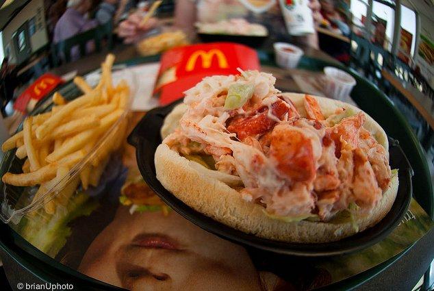 Menú McLobster del McDonalds