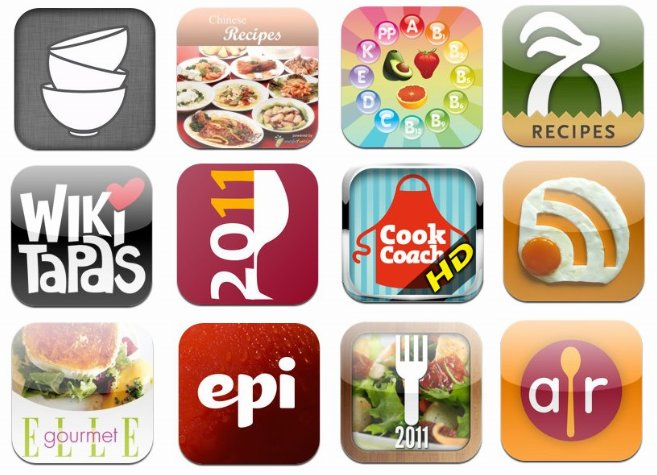 "12 ""apps"" de cocina imprescindibles para iPhone y iPad"
