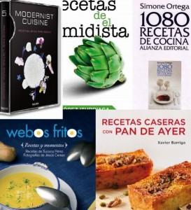 5 libros de cocina imprescindibles