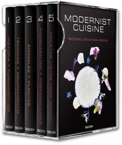 Modernist Cuisine: El arte y la ciencia en la cocina, de Nathan Myhrvold.