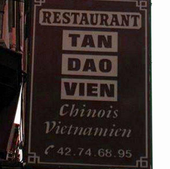 "Restaurante ""Tan Dao Vien""."