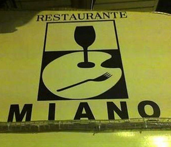 """Restaurante """"Miano""""."""