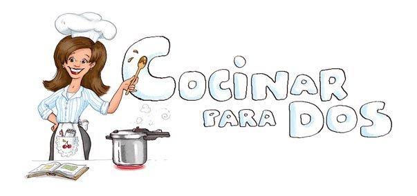 """Cabecera del Blog """"Cocinar para 2"""", de Belén Otero"""