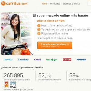 Comprar comida online: CARRITUS