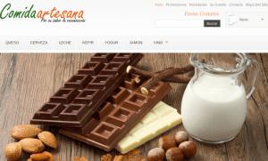 Web Comida Artesana