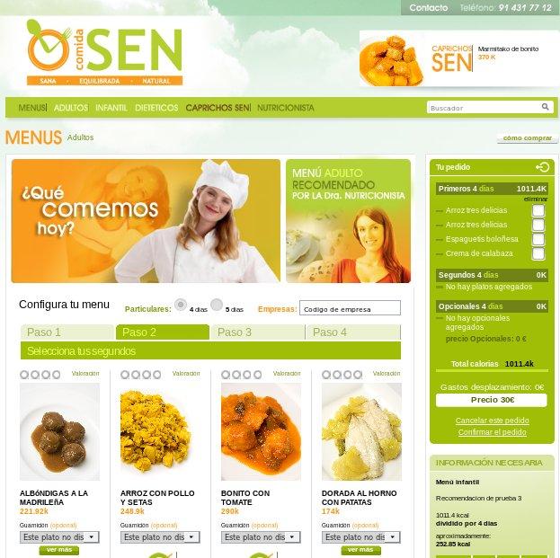 Comprar comida online: COMIDA SEN