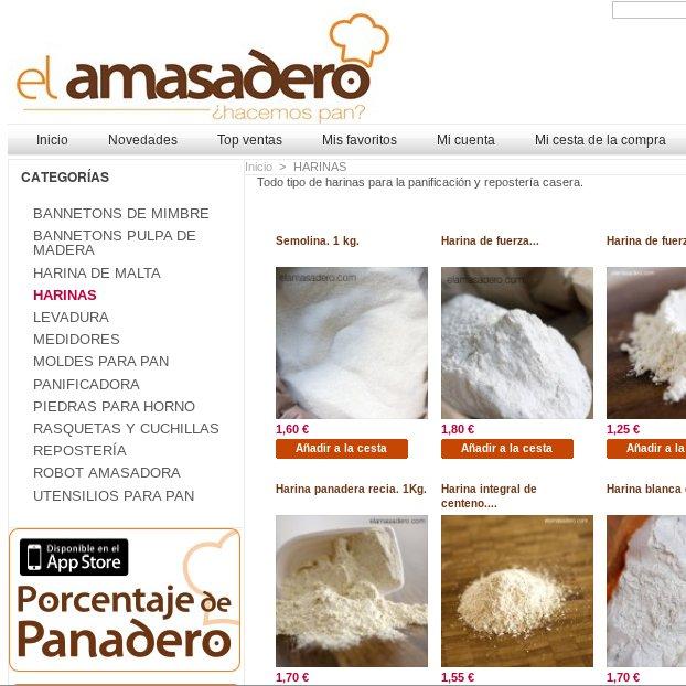 Comprar comida online: EL AMASADERO