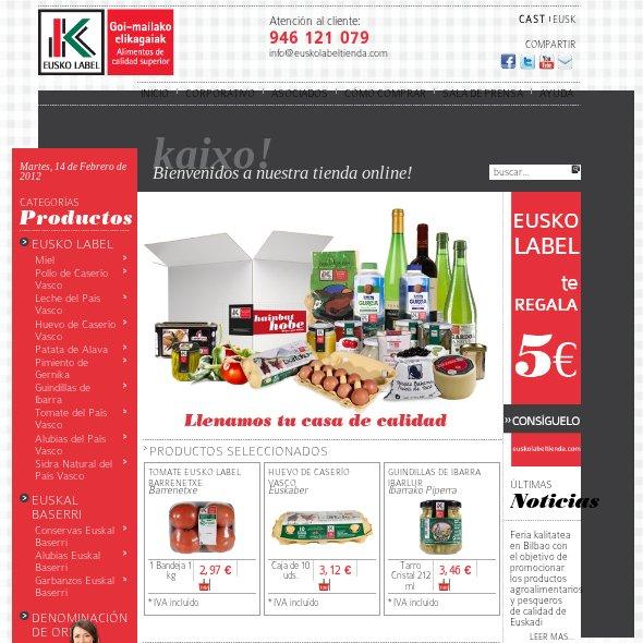 Comprar comida online: EUSKO LABEL