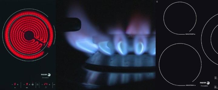 ¿Gas, vitrocerámica o inducción?
