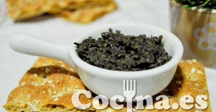 Tapenade empleado para la salsa putanesca